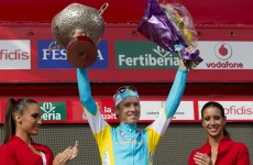 Vuelta á Espana: Kessiakoff wins time trial