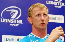 Thorn exit will not hamper Leinster – Cullen