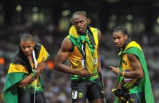 Sprint finish: Bolt not concerned with WR for track finale