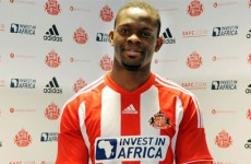 Handle with care: Sunderland hand Saha one-year deal