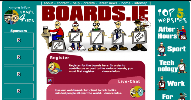 Time Machine: Here's how 26 popular websites used to look