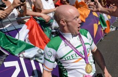 Mark Rohan's coach deserves the gold medal for Paralympics celebrations