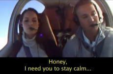 This guy wanted to propose to his girlfriend – so he pretended to crash a plane
