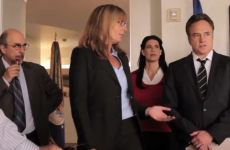 VIDEO: West Wing cast reunites for sister's campaign video