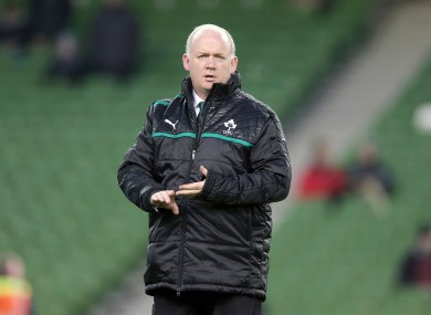 Declan Kidney: saw Ireland lose out in the end.