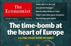 Here's why the French got upset about The Economist cover