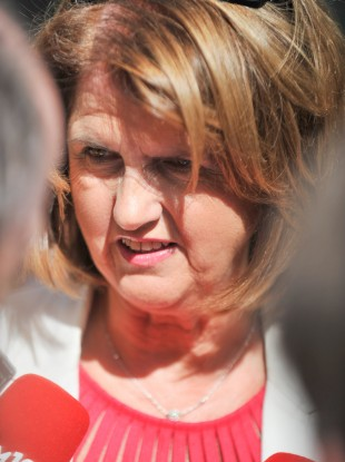 The Minister for Social Protection Joan Burton