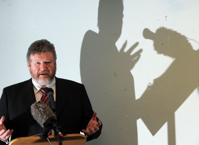 Your life in his hands: Health Minister James Reilly launching Future Health this week.