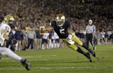 Luck of the Irish: Notre Dame beats Pittsburgh in triple overtime