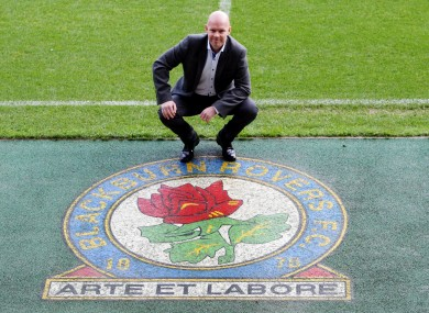 Berg at Ewood Park today.