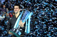 Djokovic dedicates Tour Finals title to sick father