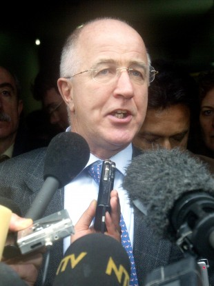 Denis MacShane, Britain's former minister for Europe (file)