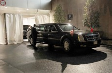 This is why they call Obama's Cadillac 'The Beast'