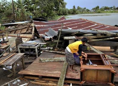typhoon bopha kills at least 40 in philippines. Black Bedroom Furniture Sets. Home Design Ideas