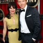 Helen McCrory and actor Damian Lewis. (Photo by Matt Sayles/Invision/AP)