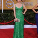 Rose from Two And A Half Men also looks grand in green. (Photo by Jordan Strauss/Invision/AP)