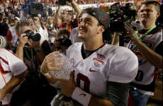 'Keep dreaming': 'Bama QB hits back at sportsmen ogling his girlfriend