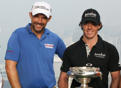 Pádraig Harrington and Rory McIlroy.