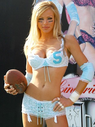 lingerie bowl press cpnference 310x415 legends football league video,Womens Underwear Football League Videos