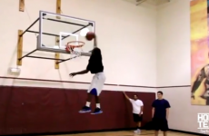 Being 5'5″ tall doesn't stop Porter Maberry from making massive dunks