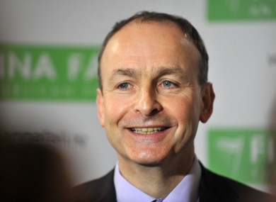In a poll taken before the promissory note deal, Micheál Martin's Fianna Fáil was considered the most popular political party in Ireland for the first time since 2008.