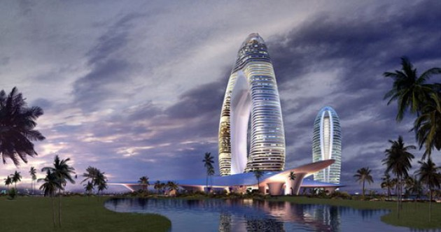 Chinese 'Dubai' turns into deserted island