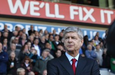 I'm no quitter, says defiant Arsenal boss Arsene Wenger