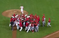VIDEO: Mexican and Canadian baseball players brawl it up