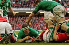 VIDEO: 'O'Driscoll's tries these days are more from 2 yards than 70′