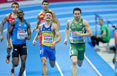 Indoor Championships: Gregan dominates 400m heat