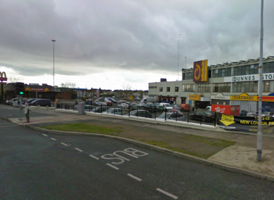 Donaghmede Shopping Centre in Dublin (File)