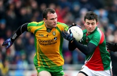 Donegal defender McGee set for scan on knee injury
