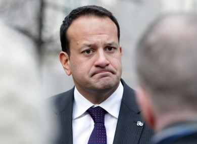 Leo Varadkar's Department of Transport, Tourism and Sport will have the highest proportionate cut to its spending budget for 2013.