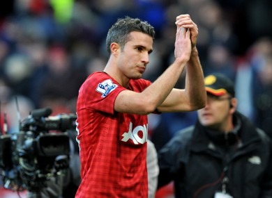 Robin van Persie is expected to return to his old ground.