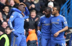 VIDEO: Demba Ba's brilliant finish sees Chelsea go through