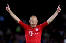 Bayern domination of Barca amazes Arjen Robben