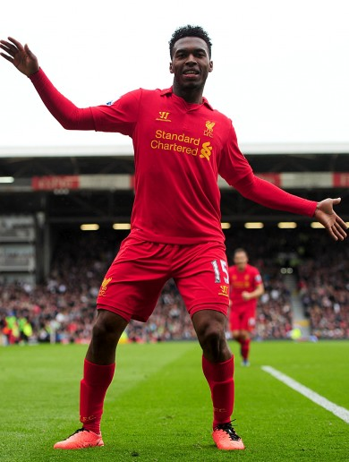 Watch Daniel Sturridge's hat-trick against Fulham