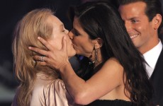 The Meryl Streep guide to smooching celebrities