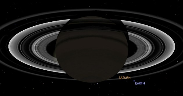NASA to take a photo of the Earth from Saturn