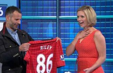 In pictures: Ryan Giggs surprises Rachel Riley on special episode of Countdown