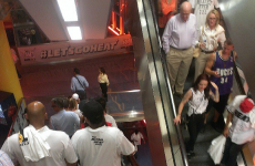 A load of Miami Heat fans left Game 6 early, banged on the doors to be left back for overtime