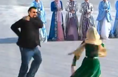 WATCH:  Steven Seagal performs Chechen dance…