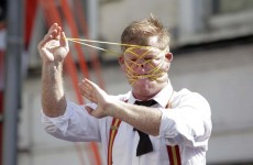 Pictures: Irish acrobatic duo take Street Performance world title