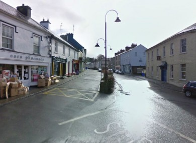 Drumshanbo, near the scene of the collision today.