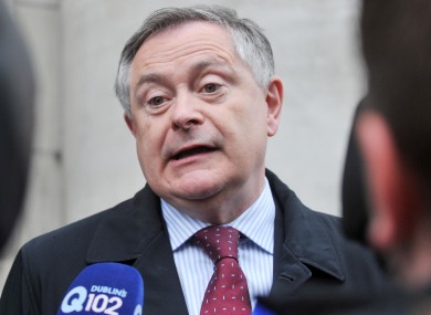 Minister for Public Expenditure and Reform Brendan Howlin.