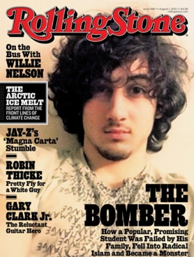 Rolling Stone defends putting Boston bomb suspect Dzhokhar Tsarnaev on cover