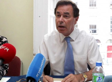 Shatter today repeated his reservations on the Protection of Life During Pregnancy Bill