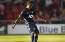 Nani marks his return to pre-season with nice free-kick