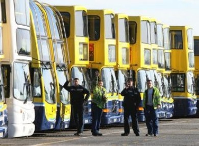File Image of Harristown Bus Depot