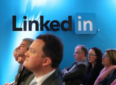LinkedIn's offices in Gardner House, Wilton Place Dublin.